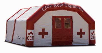 carpa hinchable de salvamento
