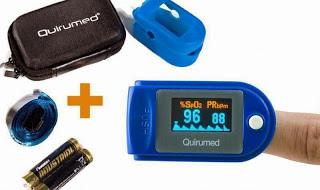 pulxioximetro eléctrico salud