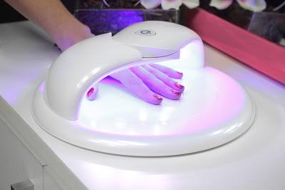 lámpara secar uñas led