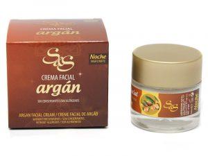 Crema facial con Argan