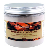 Mascarilla de chocolate