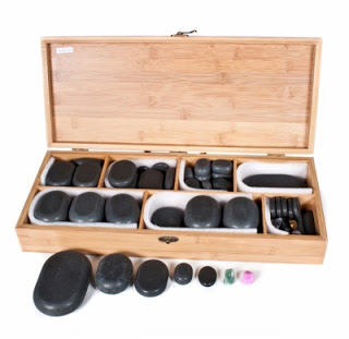 Piedras para masajes
